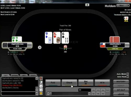 Fydor Low Stakes Beginner Heads Up Poker Video Review