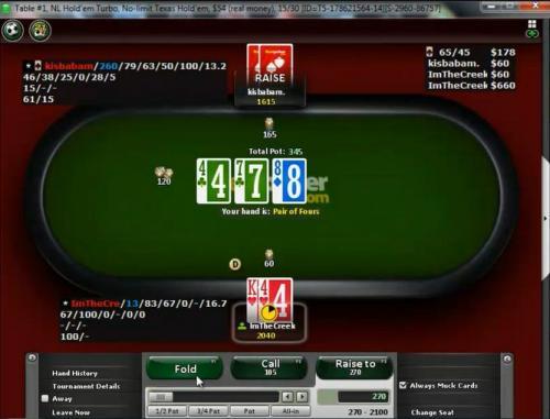 Borg7 Dual Commentary Heads Up Poker on BestPoker Video
