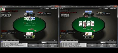 Borg7 plays 50 and 100 Euro Heads Up Games