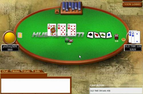 Old Time Gin High Stakes Hands Poker Video Heybude