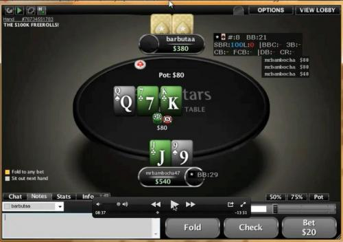 HokieGreg Heads Up Sit and Go Poker Video Hyper Turbo