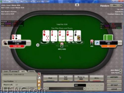 ITRIED heads up sng poker leakfinder