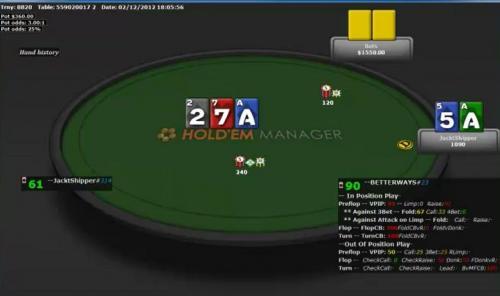 Heads Up Poker Tournament Battle