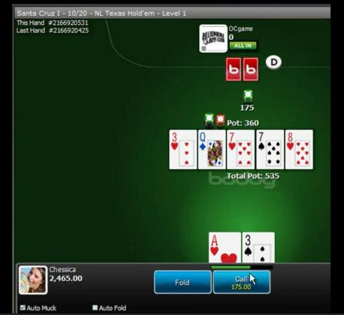Katipo at the $100 heads up sngs on Bodog