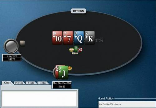 mjw006 $215 Against Unique Regular Opponent Continuation Bet Frequency Heads Up Poker Video