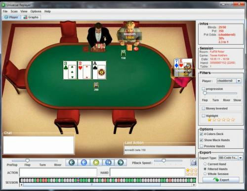 PrimordialAA heads up sng poker leakfinder