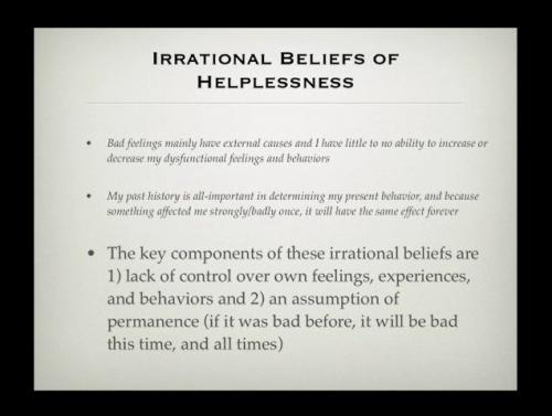 Mental Poker Video Discussing Irrational Beliefs and Fear