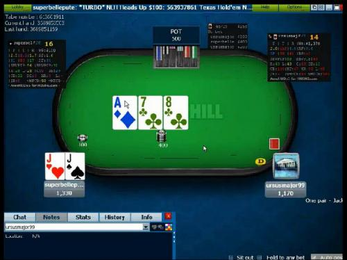 RyPac13 heads up sng end game video