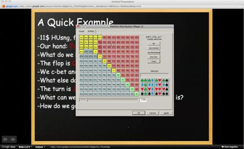 Waldie Talks About Forming Hand Ranges And Hand Reading In Heads Up SNG Poker