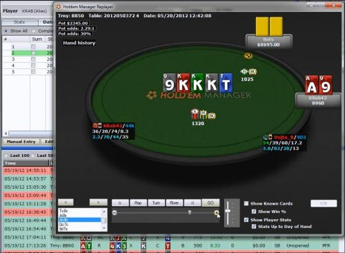 krab42 plays the $2100 HU SNG SCOOP on Stars