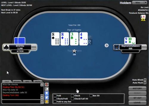 Heads up pro Mersenneary coaches his way through some heads up sit and goes on BCP.